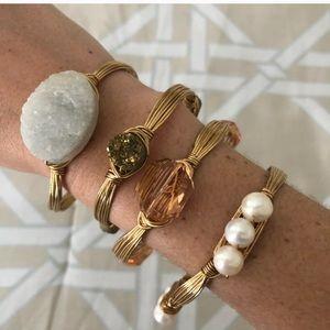 Hand-made stone bracelets
